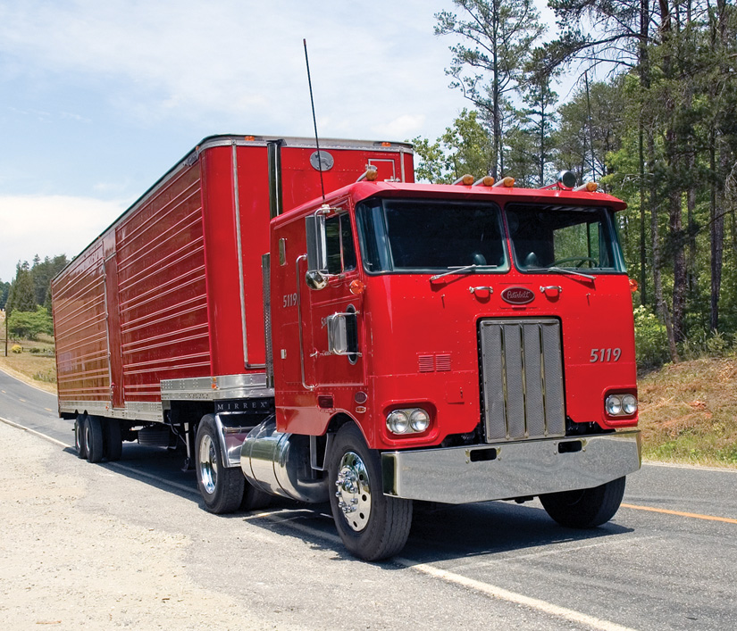 10 4 magazine for today 39 s trucker - Pictures of old peterbilt trucks ...