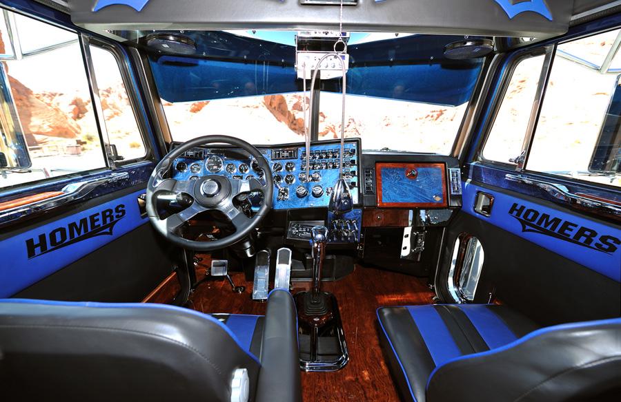Interiores truck on pinterest custom big rigs peterbilt - Peterbilt 379 interior accessories ...